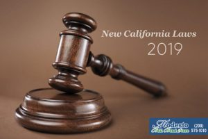 New California Laws For 2019