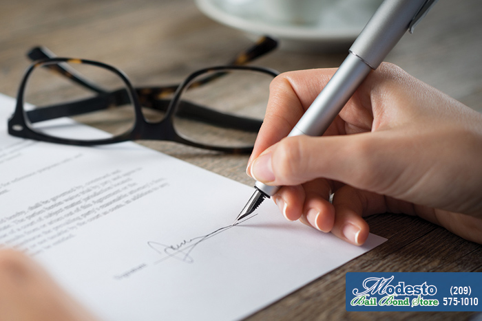 What Is Required At The Time Of Signing A Bail Agreement